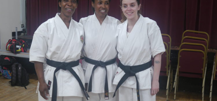 Special Congratulations passing your Dan gradings!
